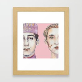 Agatha and Zero Framed Art Print