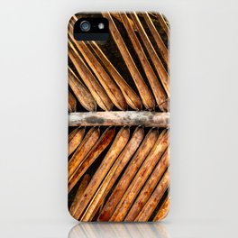 Dried Coconut Palm iPhone Case