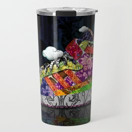 Horror Vacui - Baskets01 Travel Mug