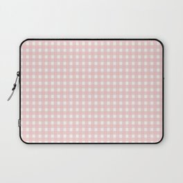 Rose Quartz Checkered Laptop Sleeve