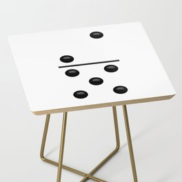 White Domino / Domino Blanco Side Table