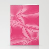 bow Stationery Cards featuring Bow by AlexinaRose
