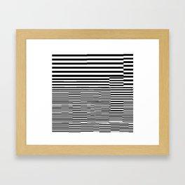 Clubist Tubes Framed Art Print