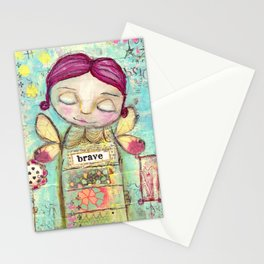 Mixed media by TandiArt Stationery Cards