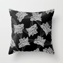Gehry Lace Throw Pillow