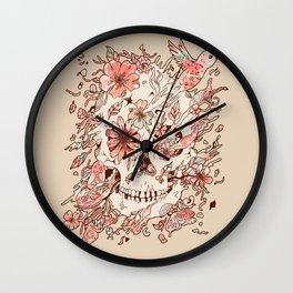 Hold On, Dear Life Wall Clock