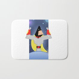 Space Ghost Bath Mat