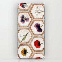 cookies iPhone & iPod Skins featuring Cookies by Marta Li