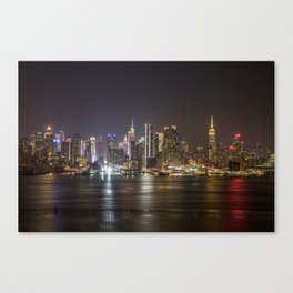 City of Bright Lights New York, New York Canvas Print