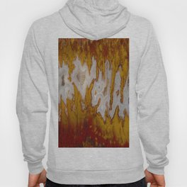 Cady Mountain Yellow Flame Agate Hoody