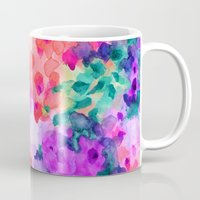 saga Mugs featuring Flourish 2 by Jacqueline Maldonado