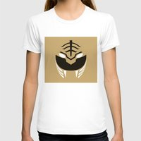 power rangers T-shirts featuring White Rangers Remix by hellostranger
