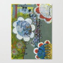 Chatty Canvas Print