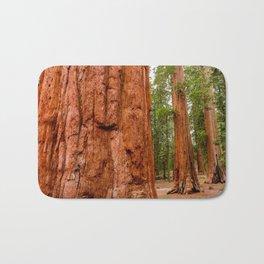Sequoia Trees, McKinley Grove, California Bath Mat