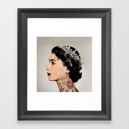 Rebel Queen Framed Art Print