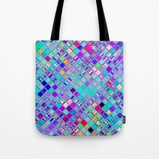 Re-Created  Mosaic No. ELEVEN by Robert S. Lee Tote Bag