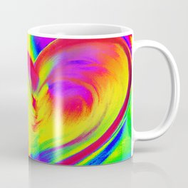 Double Heart beat Coffee Mug