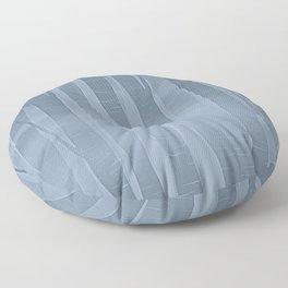 Woodland -  Minimal Blue Birch Forest Floor Pillow