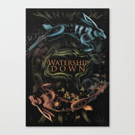 Watership Down alternative cover Canvas Print