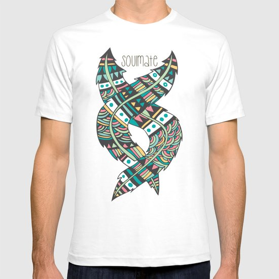 Soulmate Feathers T-shirt