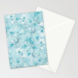 BLUE MAGNOLIAS Stationery Cards