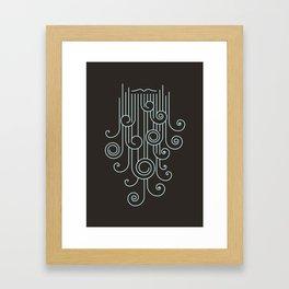 Beard of Ages Framed Art Print