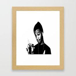 For The Love Of Mr.Rager Framed Art Print