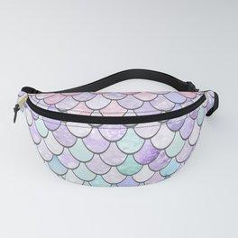 Mermaid Pastel Pink Purple Aqua Teal Fanny Pack