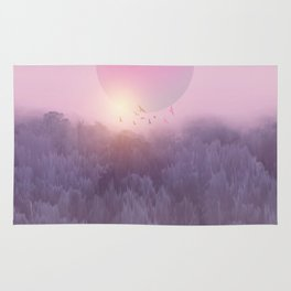 Landscape & gradients XIX Rug