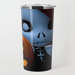Rag Doll Halloween Travel Mug