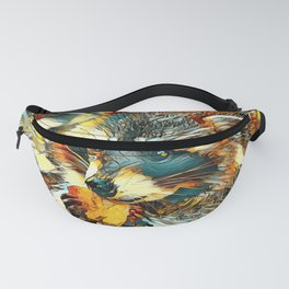AnimalArt_Raccoon_20170601_by_JAMColorsSpecial Fanny Pack