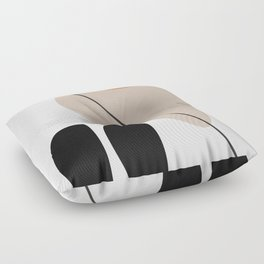 Abstract Shapes 61 Floor Pillow