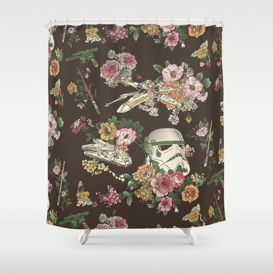 botanic wars shower curtainjosh ln | society6