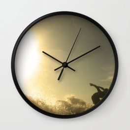 Ready for launch  Wall Clock