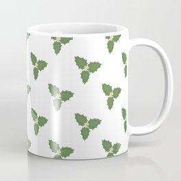Misletoe - green and beige Coffee Mug