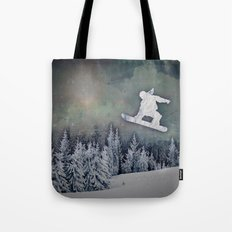 The Snowboarder Tote Bag