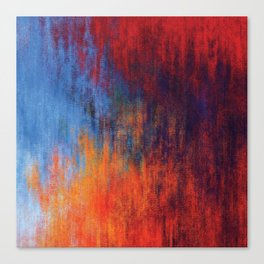 Hell Flame Canvas Print