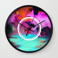 medicine Wall Clocks featuring Medicine Man by friendejas