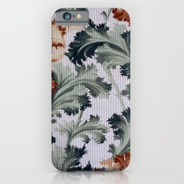 Maxwell and Company Floral Wallpaper iPhone Case
