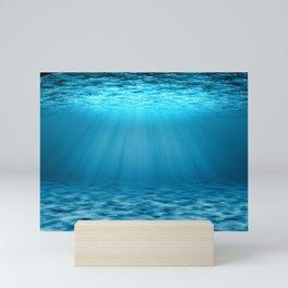 3D underwater Mini Art Print