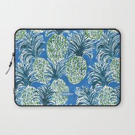LAPIS PINEAPPLE O'CLOCK Tropical Print Laptop Sleeve