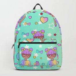 Fashion Geek Girl Doll Backpack