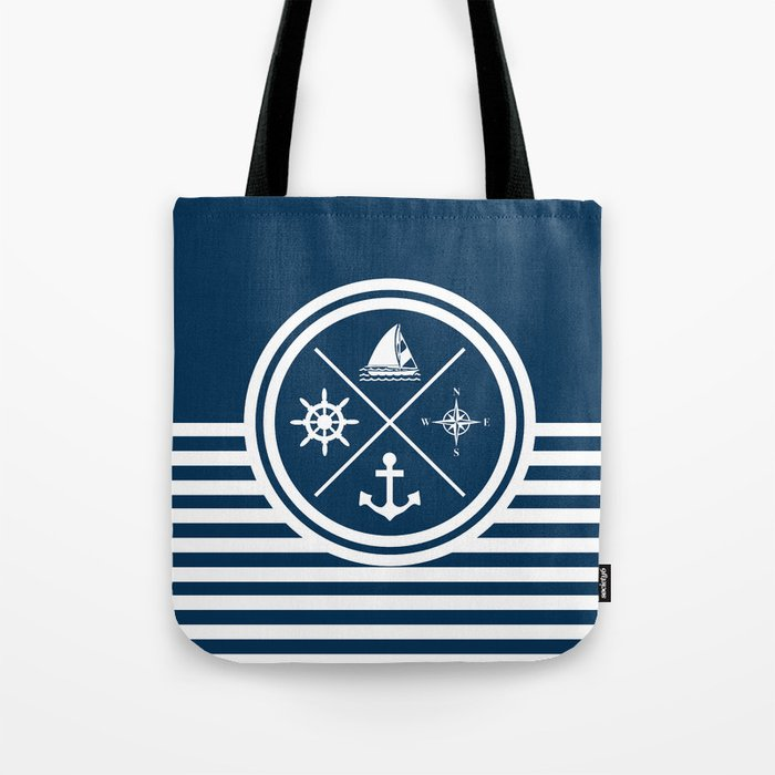 Sailing symbols Tote Bag