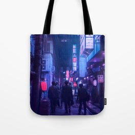 Tokyo Nights / One Minute To Midnight / Liam Wong Tote Bag
