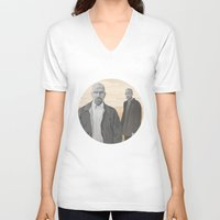 breaking bad V-neck T-shirts featuring Breaking Bad by ketizoloto