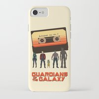 guardians of the galaxy iPhone & iPod Cases featuring GUARDIANS OF THE GALAXY by Kaitlin Smith