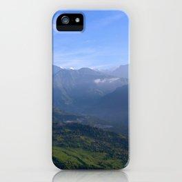 View of Besisahar - Greg Katz iPhone Case