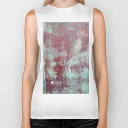 Background. Grunge and rusty metal surface Biker Tank