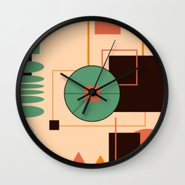 A Day in Miami City Wall Clock
