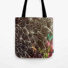 Coloring black Tote Bag